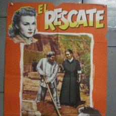 Cine: CDO 6896 EL RESCATE FOLCO LULLI POSTER ORIGINAL ESPAÑOL 70X100 ESTRENO. Lote 224199208