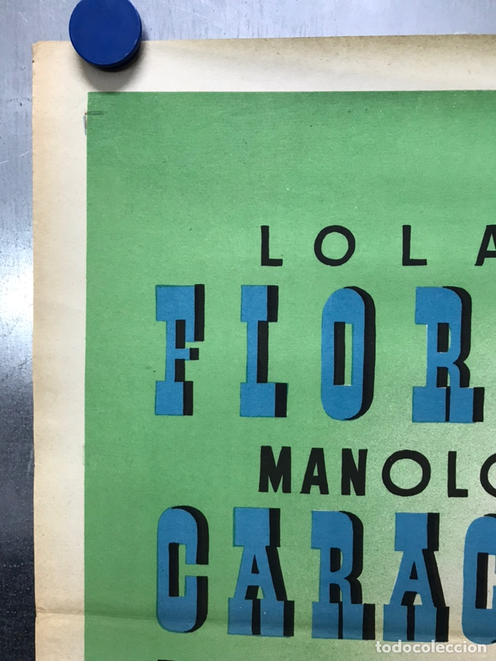 Cine: EMBRUJO - LOLA FLORES, MANOLO CARACOL, FERNANDO FERNAN GOMEZ - ilustr: LLOAN, AÑO 1957 - LITOGRAFIA - Foto 6 - 224333997