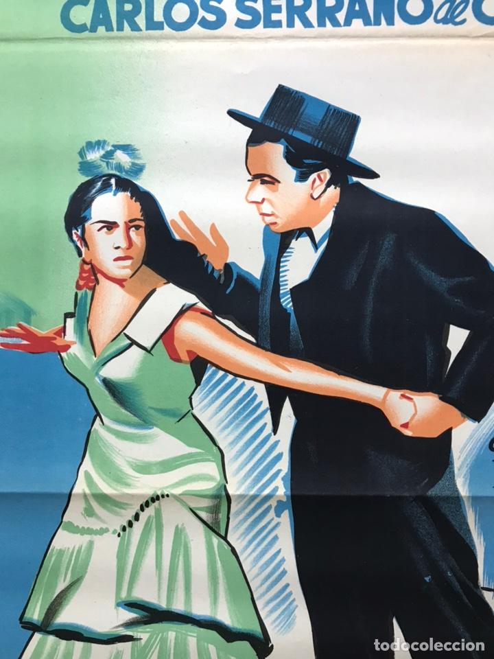 Cine: EMBRUJO - LOLA FLORES, MANOLO CARACOL, FERNANDO FERNAN GOMEZ - ilustr: LLOAN, AÑO 1957 - LITOGRAFIA - Foto 8 - 224333997