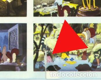 Cine: BLANCANIEVES Y LOS 7 ENANITOS - WALT DISNEY - PLANCHA CARTEL 210 CROMOS / FHER - ÚNICO EN TC - Foto 13 - 224346553
