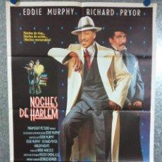Cine: NOCHES DE HARLEM. EDDIE MURPHY, RICHARD PRYOR, AÑO 1989. POSTER ORIGINAL. Lote 224346865