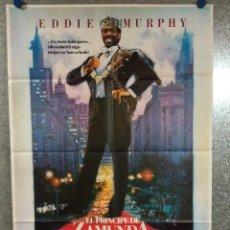 Cinema: EL PRÍNCIPE DE ZAMUNDA. EDDIE MURPHY. AÑO 1988. POSTER ORIGINAL. Lote 241630555