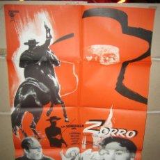 Cine: LA VENGANZA DEL ZORRO FRANK LATIMORE ROMERO MARCHENT POSTER ORIGINAL 70X100 YY (1530). Lote 224533375