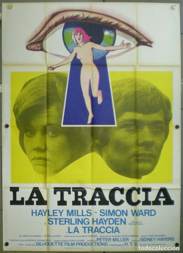 UZ40D ENCUENTRO MORTAL HAYLEY MILLS SIMON WARD POSTER ORIGINAL ITALIANO 140X200 (Cine - Posters y Carteles - Documentales)