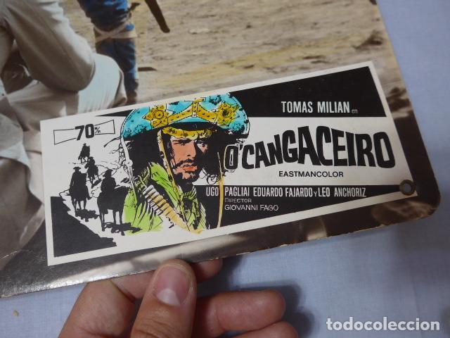 Cine: * Antiguo cartel de cine en carton duro: ocangaceiro, original. ZX - Foto 2 - 224680558