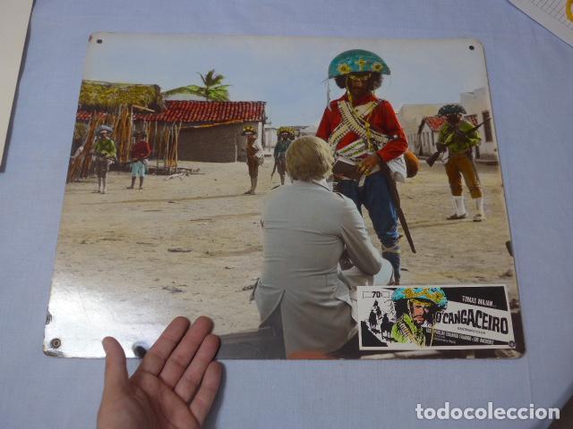* ANTIGUO CARTEL DE CINE EN CARTON DURO: O'CANGACEIRO, ORIGINAL. ZX (Cine - Posters y Carteles - Acción)