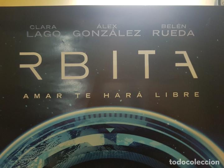 Cine: Cartel Original Videoclub. Órbita 9 con Clara Lago y Belén Rueda. Mide 98 x 68 - Foto 2 - 224681062