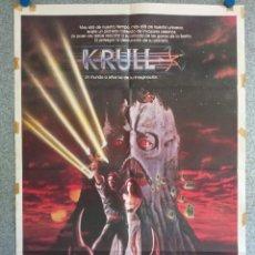 Cinema: KRULL. KEN MARSHALL, FREDDIE JONES. AÑO 1983. POSTER ORIGINAL. Lote 224774257