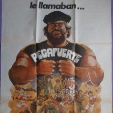 Cinema: CARTEL CINE LE LLAMABAN... PEGAFUERTE BUD SPENCER 1978 A 160. Lote 224779421