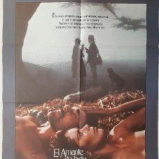 Cinema: CARTEL CINE EL AMANTE DE LADY CHATTERLEY SYLVIA KRISTEL NICHOLAS CLAY 1981 A 168. Lote 224799572