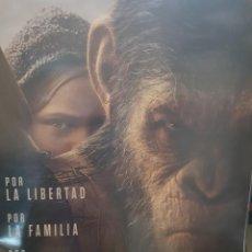 Cine: CARTEL ORIGINAL VIDEOCLUB. LA GUERRA DEL PLANETA DE LOS SIMIOS. MIDE 68 X 48. Lote 224800335