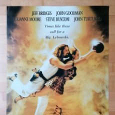Cinema: POSTER THE BIG LEBOWSKI EL GRAN LEBOWSKI HERMANOS COEN JEFF BRIDGES JOHN GOODMAN , POPLAND. Lote 224802045