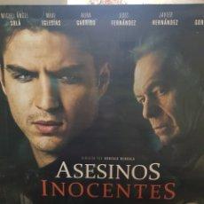 Cine: CARTEL ORIGINAL VIDEOCLUB. ASESINOS INOCENTES CON AURA GARRIDO Y MAXI IGLESIAS. MIDE 98,5 X 68,5. Lote 224802295