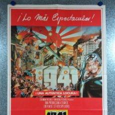 Cinema: 1941. STEVEN SPIELBERG, JOHN BELUSHI, BOBBY DI CICCO AÑO 1979. POSTER ORIGINAL. Lote 224842181