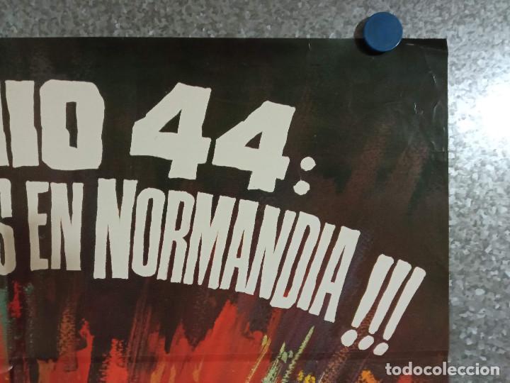Cine: Junio 44: desembarcaremos en Normandía. Michael Rennie, Bob Sullivan, AÑO 1975. POSTER ORIGINAL - Foto 3 - 224843801