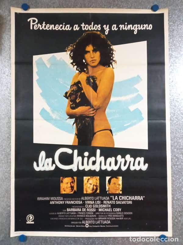 LA CHICHARRA. ANTHONY FRANCIOSA, VIRNA LISI, CLIO GOLDSMITH. AÑO 1980. POSTER ORIGINAL (Cine- Posters y Carteles - Drama)