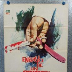 Cine: ENSAYO DE UN CRIMEN. LUIS BUÑUEL. ERNESTO ALONSO, MIROSLAVA, ARIADNE WELTE AÑO 1965 POSTER ORIGINAL. Lote 224873065