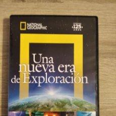 Cine: NATIONAL GEOGRAPHIC UNA NUEVA ERA DE EXPLORACIÓN DOCUMENTAL DVD 1 DISCO. Lote 224899570