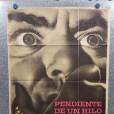 Cine: PENDIENTE DE UN HILO. ERNEST BORGNINE, KERWIN MATHEWS. AÑO 1960. POSTER ORIGINAL. Lote 225009575