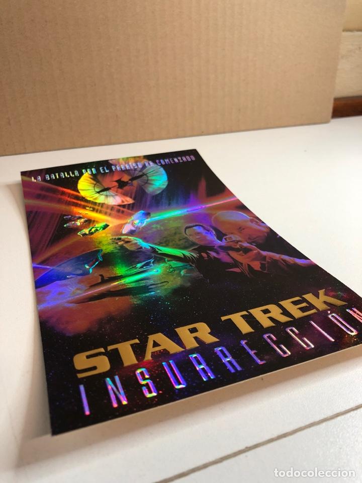 Cine: Cartel de star trek (insurrección) multicolor según la luz - Foto 2 - 225011400