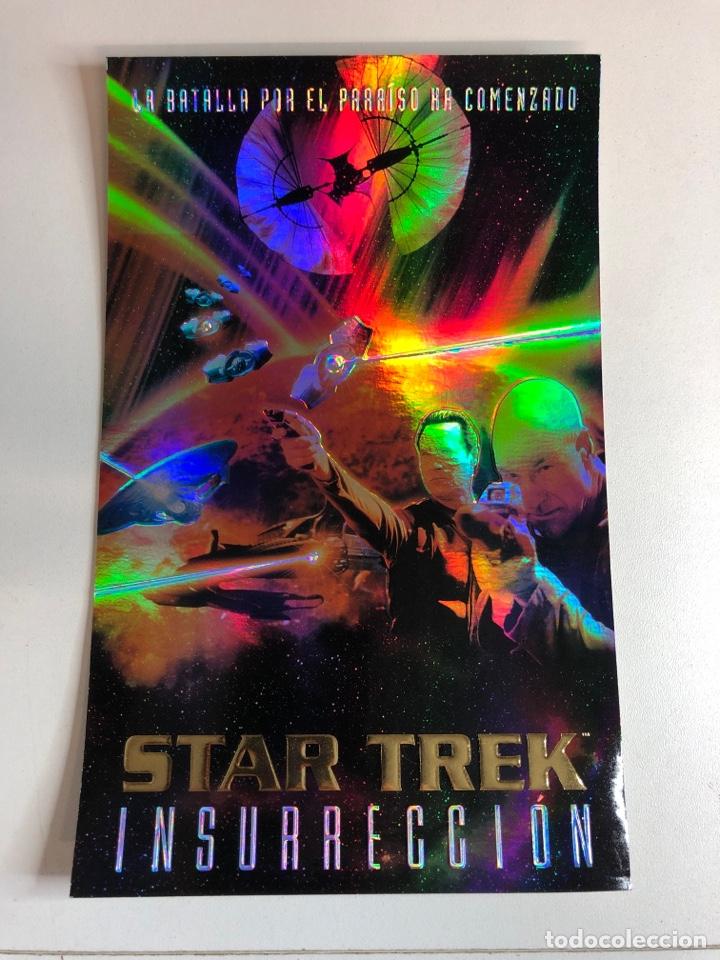 CARTEL DE STAR TREK (INSURRECCIÓN) MULTICOLOR SEGÚN LA LUZ (Cine - Posters y Carteles - Ciencia Ficción)
