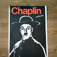 Cine: PÓSTER CHAPLIN INOLVIDABLE - 1986. Lote 225120660