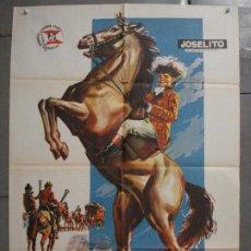 Cine: CDO 7048 EL PEQUEÑO CORONEL JOSELITO POSTER ORIGINAL ESTRENO 70X100. Lote 225185666