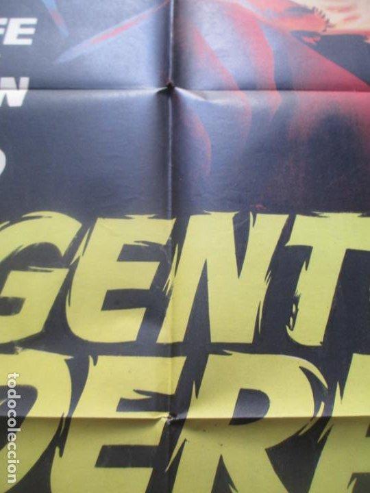 Cine: CARTEL CINE AGENTE FEDERAL X-678 DENNIS O`KEEFE MARGARET SHERIDAN JANO LITOGRAFIA ORIGINAL C1963 - Foto 3 - 225243662
