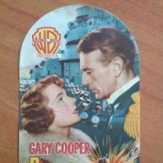 Cine: 1951 PUENTE DE MANDO - GARY COOPER. Lote 225283305