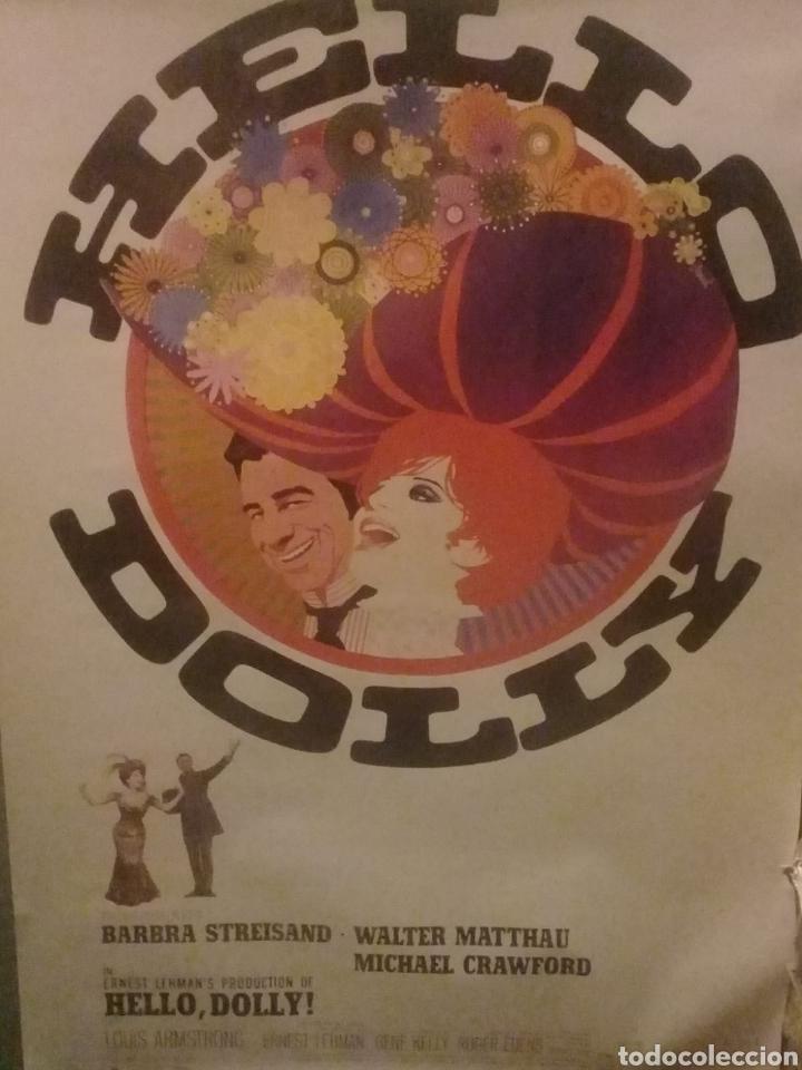 HELLO DOLLY CARTEL ORIGINAL DE LA ÉPOCA (Cine - Posters y Carteles - Musicales)