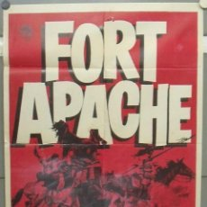Cine: OP12D FORT APACHE JOHN WAYNE JOHN FORD POSTER ORIGINAL 70X100. Lote 225405680