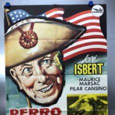 Cine: PERRO GOLFO - JOSE ISBERT, MAURICE MARSAC, PILAR CANSINO - AÑO 1962. Lote 225500185