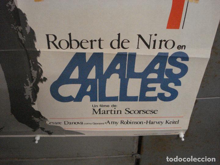 Cine: CDO 7103 MALAS CALLES MEAN STREETS SCORSESE DE NIRO POSTER ORIGINAL 70X100 ESTRENO - Foto 9 - 225503320
