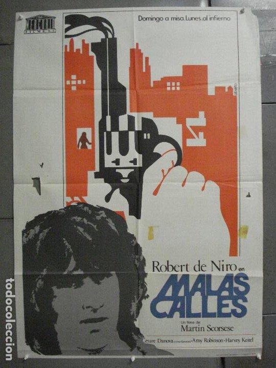 CDO 7103 MALAS CALLES MEAN STREETS SCORSESE DE NIRO POSTER ORIGINAL 70X100 ESTRENO (Cine - Posters y Carteles - Acción)