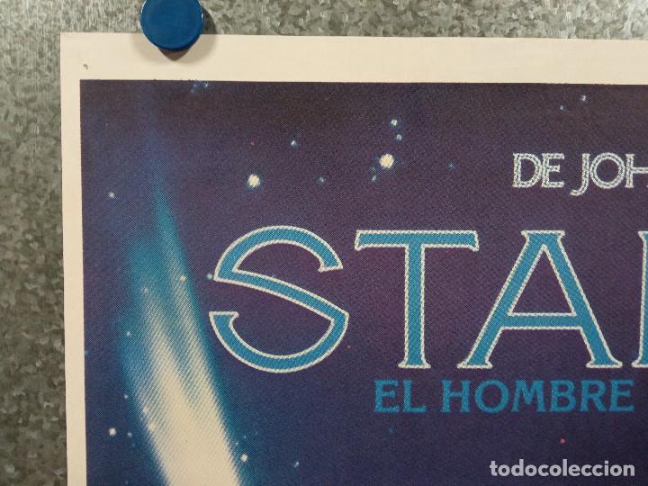 Cine: Starman, el hombre de las estrellas. Jeff Bridges, Karen Allen. AÑO 1984. POSTER ORIGINAL - Foto 2 - 225544650
