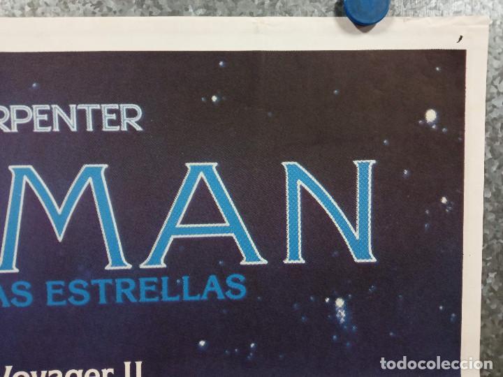 Cine: Starman, el hombre de las estrellas. Jeff Bridges, Karen Allen. AÑO 1984. POSTER ORIGINAL - Foto 3 - 225544650