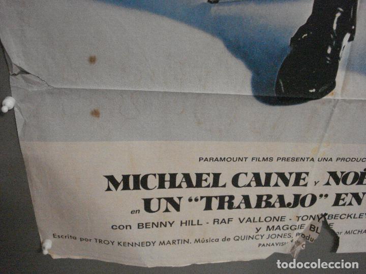 Cine: CDO 7109 UN TRABAJO EN ITALIA the italian job MICHAEL CAINE POSTER ORIGINAL ESTRENO 70X100 - Foto 5 - 225555035