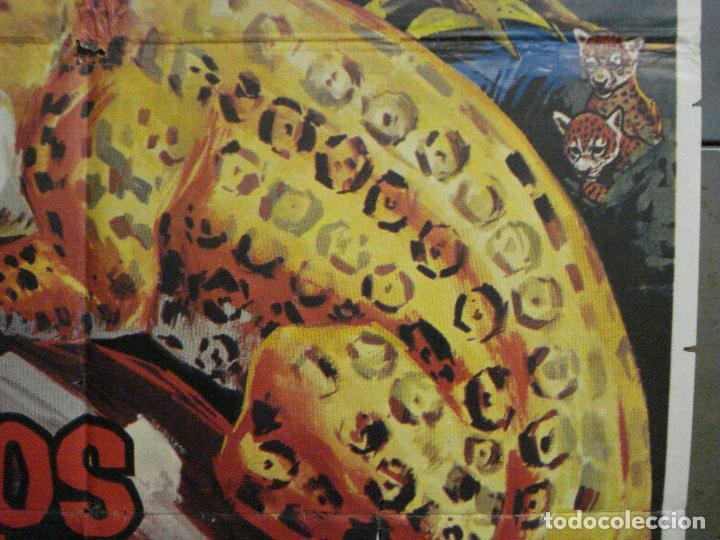 Cine: CDO 7120 RUGIDOS EN LA SELVA WALT DISNEY POSTER ORIGINAL 70X100 ESTRENO - Foto 7 - 225566725