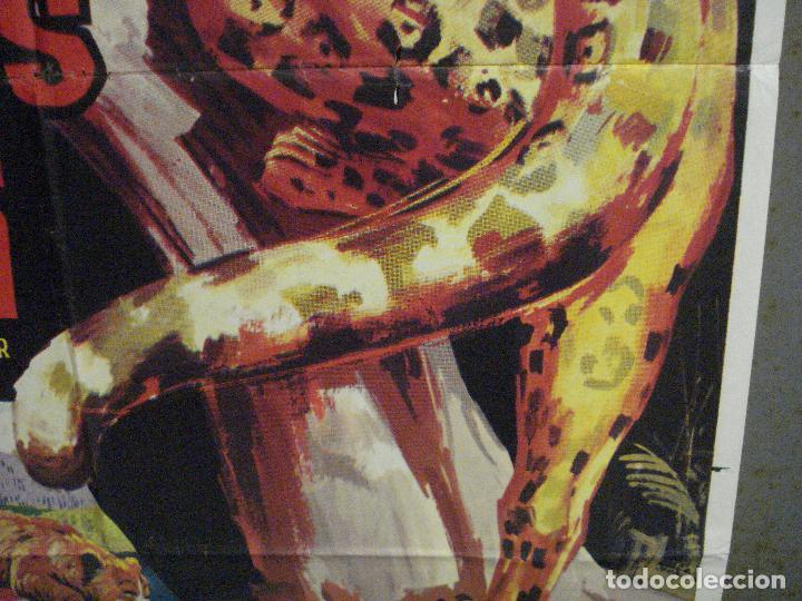Cine: CDO 7120 RUGIDOS EN LA SELVA WALT DISNEY POSTER ORIGINAL 70X100 ESTRENO - Foto 8 - 225566725