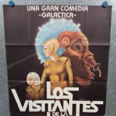 Cine: LOS VISITANTES DE LA GALAXIA. LJUBISA SAMARDZIC, ZARKO POTUCNJA. AÑO 1983. POSTER ORIGINAL. Lote 225695056