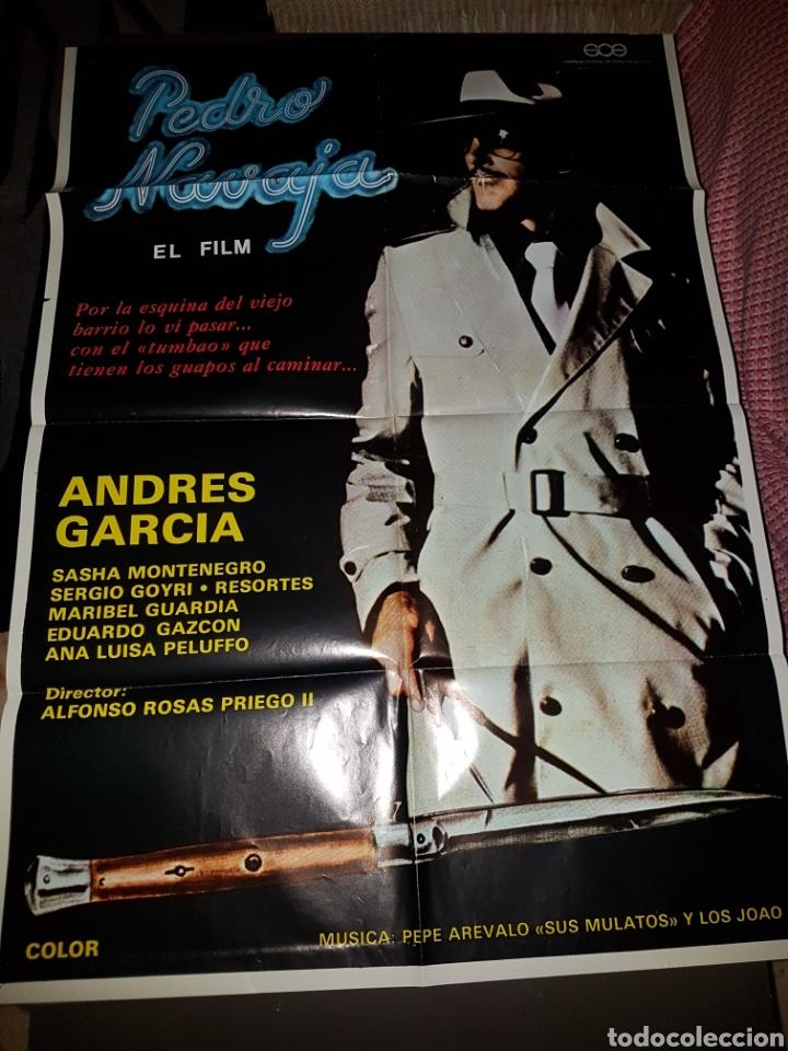 PEDRO NAVAJA EL FILM (Cine - Posters y Carteles - Musicales)
