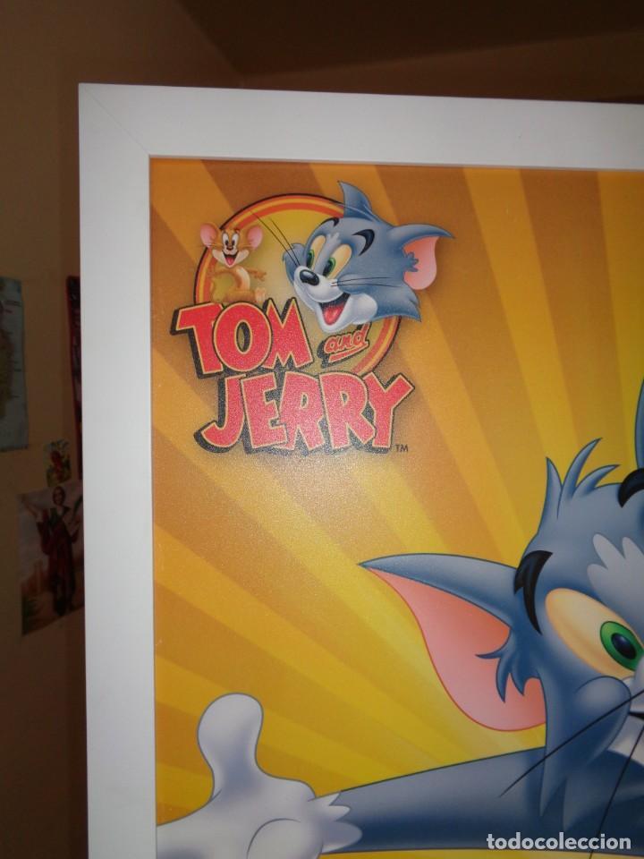 Cine: ¡¡ POSTER : TOM AND JERRY, TM. DE LA WB. ( WARNER BROS.) ENTERINMENT. INC. FP 2742. Hanna - Barbera. - Foto 2 - 226243970