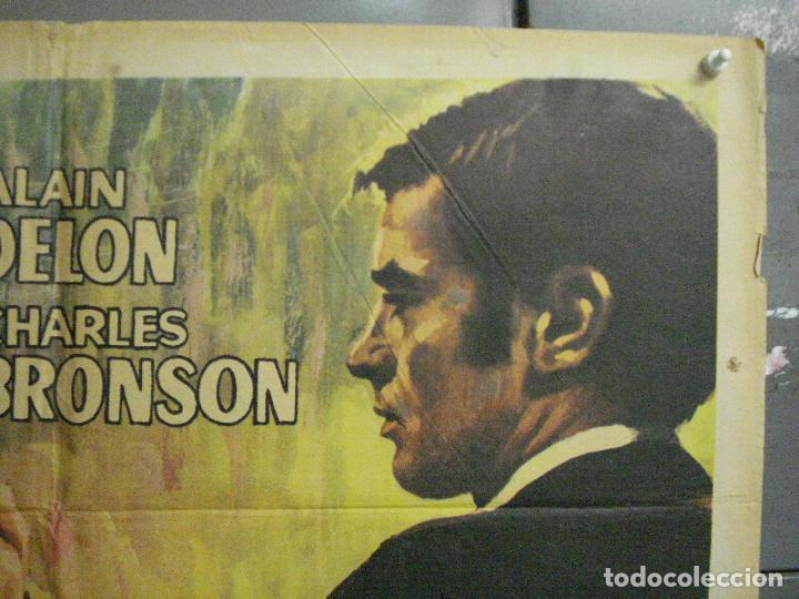 Cine: CDO 7157 ADIOS AMIGO ALAIN DELON CHARLES BRONSON POSTER ORIGINAL 70X100 ESTRENO - Foto 6 - 226289430