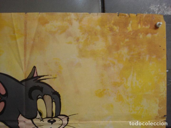 Cine: CDO 7200 TOM Y JERRY ANIMACION MGM POSTER ORIGINAL 70X100 ESTRENO - Foto 6 - 226349570