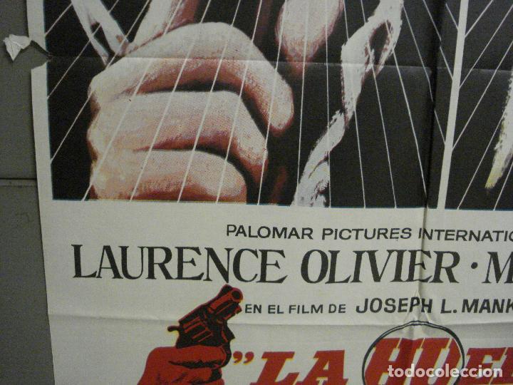 Cine: CDO 7215 LA HUELLA LAURENCE OLIVIER MICHAEL CAINE JOSEPH L. MANKIEWIC MAC POSTER ORIG 70X100 ESTRENO - Foto 4 - 226763400