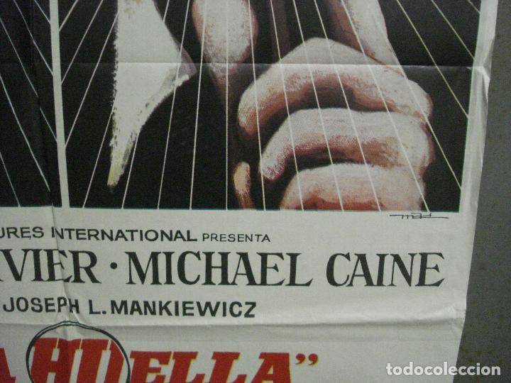 Cine: CDO 7215 LA HUELLA LAURENCE OLIVIER MICHAEL CAINE JOSEPH L. MANKIEWIC MAC POSTER ORIG 70X100 ESTRENO - Foto 8 - 226763400