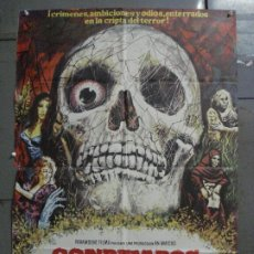 Cinema: CDO 7302 CONDENADOS DE ULTRATUMBA FREDDIE FRANCIS PETER CUSHING MAC POSTER ORIGINAL 70X100 ESTRENO. Lote 226847865
