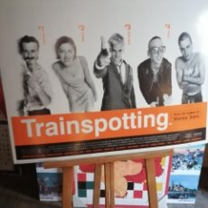 Cine: TRAINSPOTTING , CARTEL DE CINE, GRANDE ORIGINAL UK. , CON COPYRIGHT. Lote 227133755