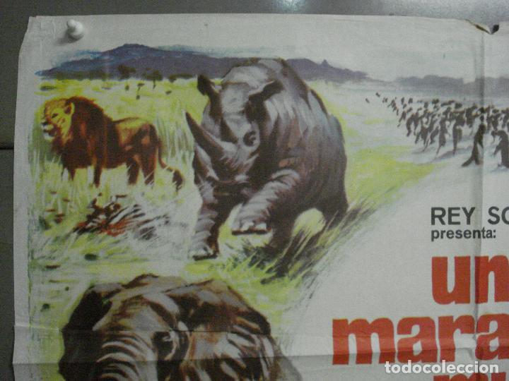 Cine: CDO 7425 UN MARAVILLOSO MUNDO DESCONOCIDO EUGENE SCHUHMACHER DOCUMENTAL ANIMALES ORIG 70X100 ESTRENO - Foto 2 - 227863520