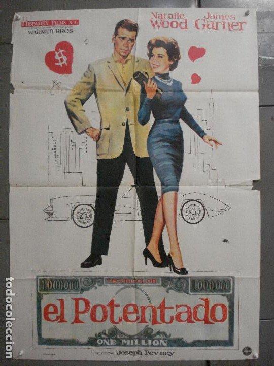 CDO 7430 EL POTENTADO NATALIE WOOD JAMES GARNER JANO POSTER ORIGINAL 70X100 ESTRENO (Cine - Posters y Carteles - Documentales)